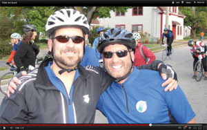 John and Marc�riding H2B for love and to make a difference